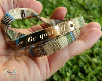 Wrap Bracelet, be yourself Charm bracelet,everyday Jewelry Authentic Style