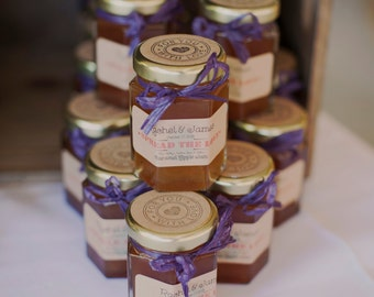 Rustic Jam Wedding Favors