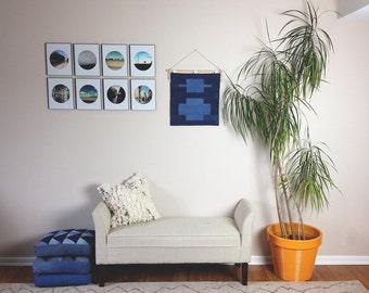 Denim Wall Hanging Wall Art Decor
