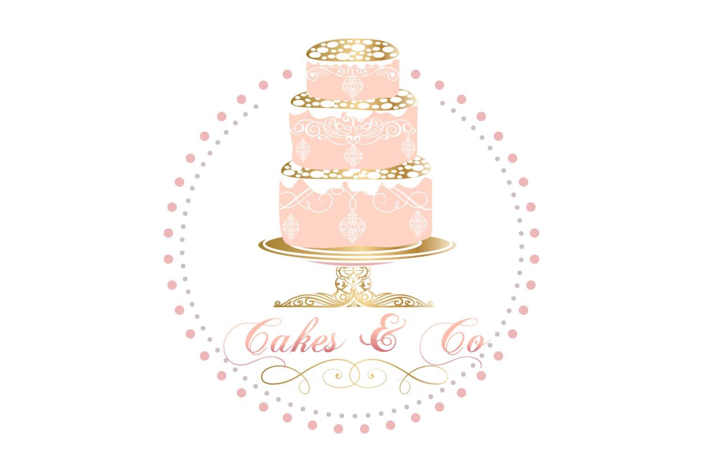 Elegant Cake Clip Art