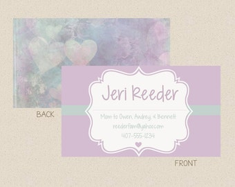 Mommy Calling Card-customizable