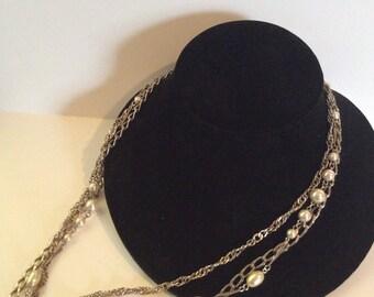 Multi strand necklace 28 in