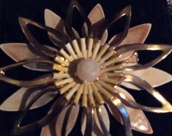 Flower brooch 2 in