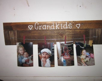 Grandkids Photo Display