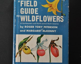 Vintage The Peterson Field Guide to Wildflowers