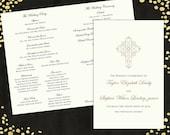 Mariage programmes mariage élégant mariage traditionnels programmes classique mariage programme