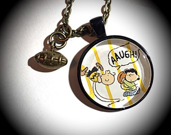 Charlie brown, Charlie Brown jewelry, charlie brown necklace, peanuts characters, peanuts, lucy