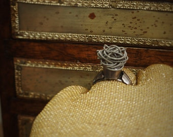 Guitar String Ring - Knotty