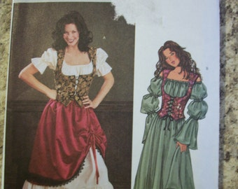 Butterick 3906 Misses (Size 12,14,16) Costumes