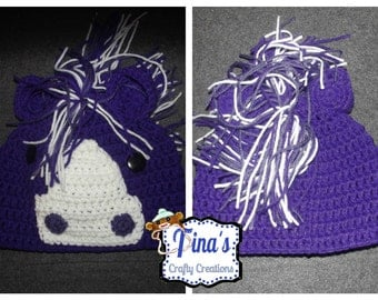 Horse Beanie, Crochet Animal Hat, Pony Hat, Handmade Hat, Photography Prop, Photo Prop, Cute Hat, Crochet Gift, Boy Hat, Girl Hat, FUN