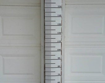 Centimeters Growth Chart, Canvas Homemade Growth Chart