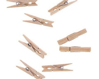 Small Clothespins - Spring - 1 7/8in., 24/pcs (dar915105)