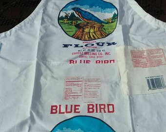 Blue Bird Adult size Apron