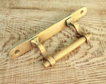 brass handle / Vintage Soviet Door Handle / door handle, decor supplies
