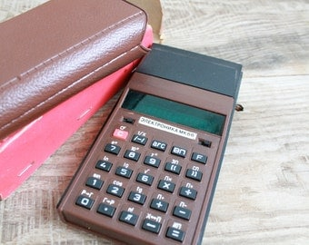 Vintage Soviet  calculator MK 66