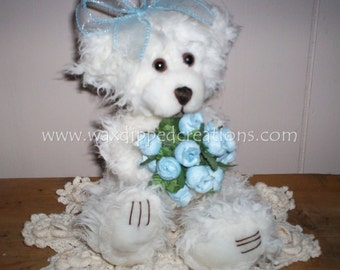 Scented Wax Dipped Darlene Bear