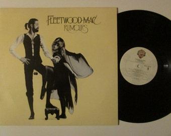 Fleetwood Mac Rumours Stevie Nicks Vintage Vinyl Record LP