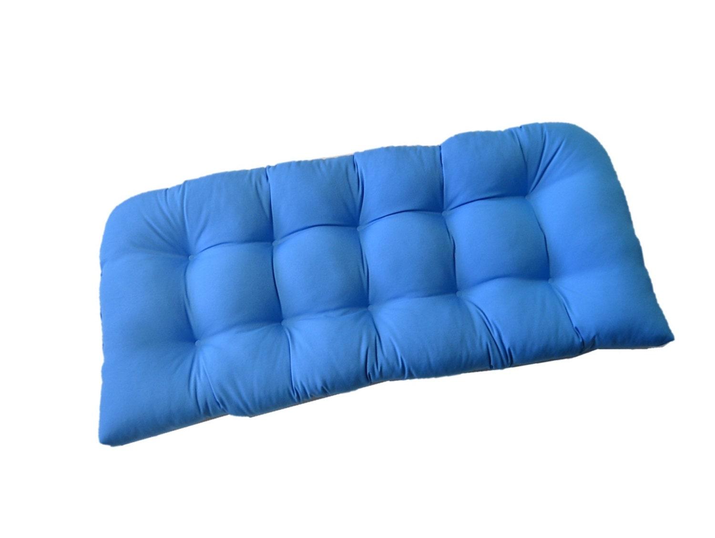 Indoor Outdoor Cushion For Wicker Loveseat Settee Bench