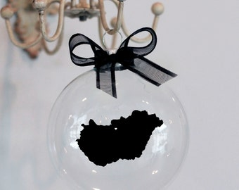 Hungary Christmas Ornament, Custom, Adoption, Travel