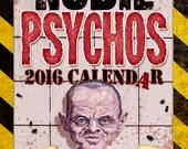 Paul Garner's NUDIE PSYCHOS 2016 calendar (signed by the artist!)