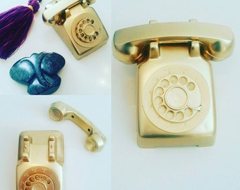 Vintage Toy Phone (bookshelf/desk decor)