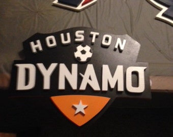 Houston Dynamo Soccer Sign