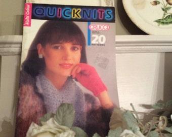 Vintage 1980's Crucci Knitting Book/Magazine