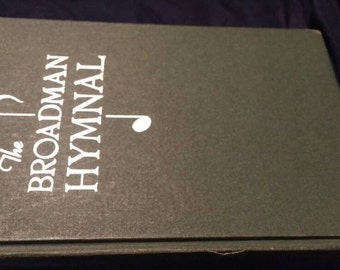 1940's The Broadman Hymnal hardback. Green cover.