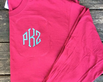 YOUTH Long sleeved monogrammed t-shirt