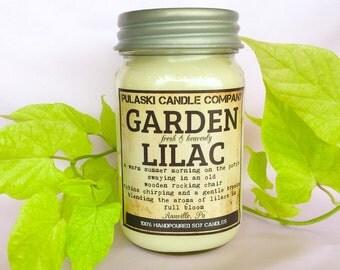 Garden Lilac 16oz Vintage Soy Candle