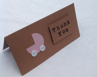 Baby Shower/Gift Thank You Card