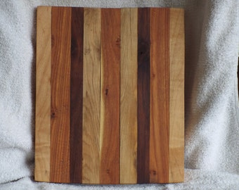 Oak, Honey Locust and Black Walnut Cutting Board