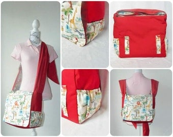 Babywearing Bag // Nappy Bag // Diaper Bag // Babywearing Messenger Bag // Changing Bag // Backpack // Custom Made
