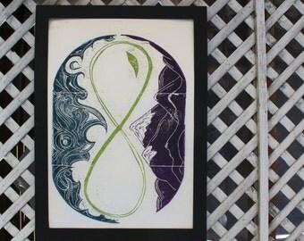 Seattle Infinity Print
