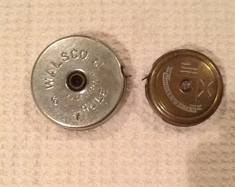 2 Vintage Collectible Tape Measures