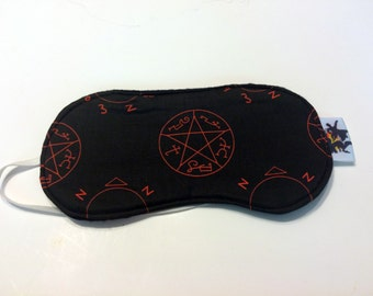 Supernatural Angel and Demon Sleep Mask