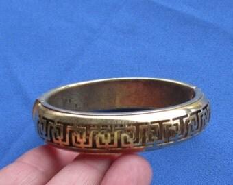 Vintage Metal Hinge Style Bracelet
