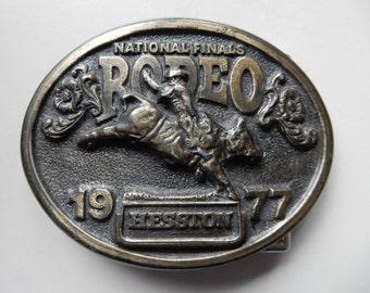 1977 Hesston Belt Buckle