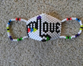 Love Glove Kandi Raver Cyber Mask