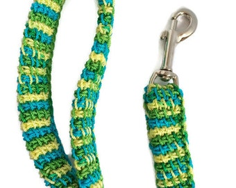Spring Green dog leash, Think Spring, Dog gift, Four foot leash, Dog walker, Dog obedience, dog trainer GDL05