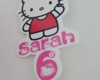 Hello Kitty Cupcake Toppers (Pk 24)