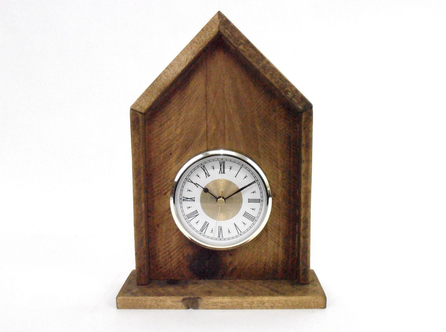 Pallet Wood Clock Rustic Wood Clock Rustic Pallet Wood