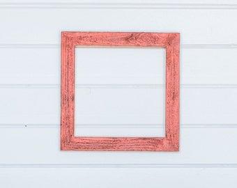 12x12 white frame etsy. Black Bedroom Furniture Sets. Home Design Ideas