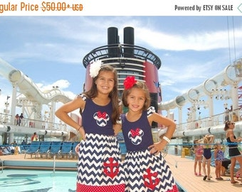 On Sale Disney Cruise  Skirt  and Tank top - Size 2T - Youth 12