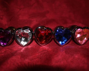 Anal Plug Heart Jewelry Bling (Mature)