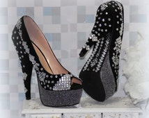 Unfathomable Black Wedding Shoes