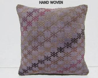 kilim pillow design interior 16x16 ethnic bedding throw pillow sofa designer rug throw pillow turkish southwestern pillow case rustic 33182