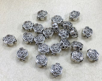 30pcs 10mm x8mmTibetan  Beads   Make Your Own Jewelry(C1208 )