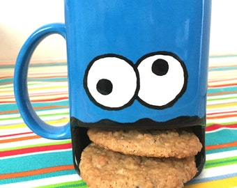 Personalized Monster Cookie Coffee/Milk Dunk Mug
