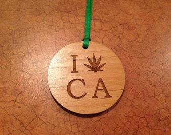 CA Pot Ornament